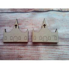 Church D2 Laser Cut PK10